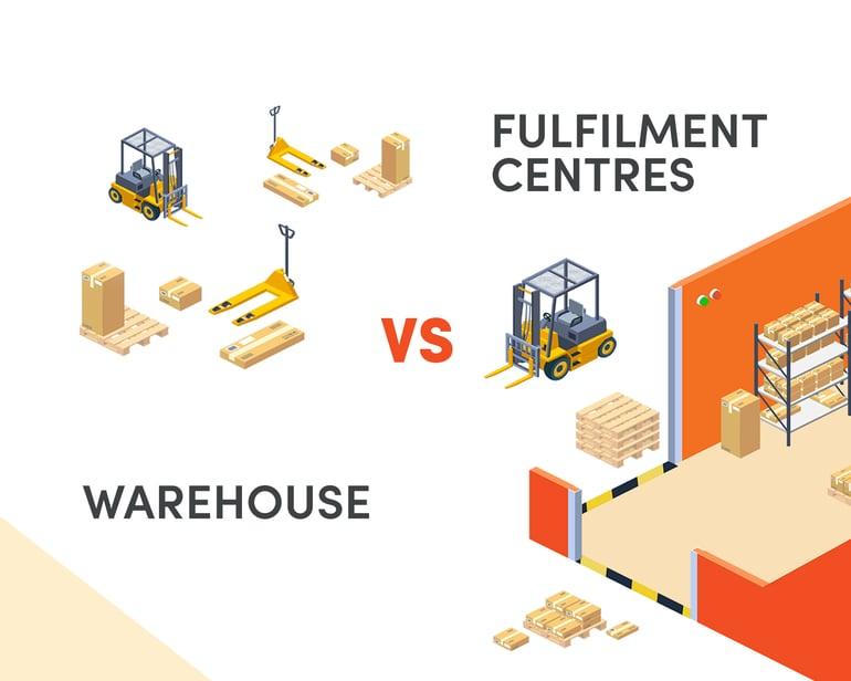 Fulfilment Centres vs Warehouse - UrbanFox